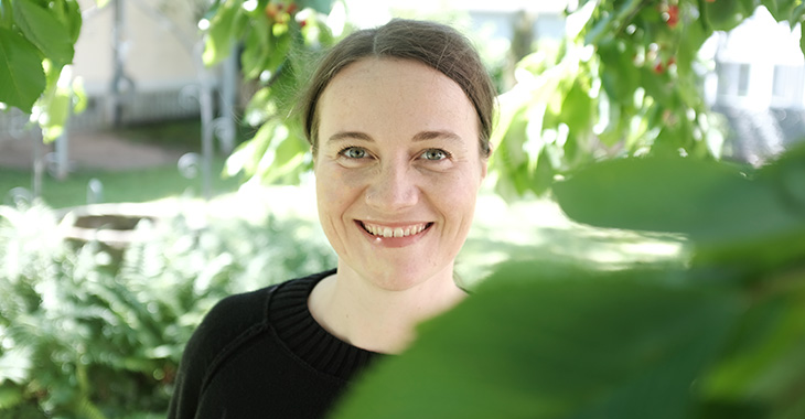 Bernadette , unsere PR Managerin