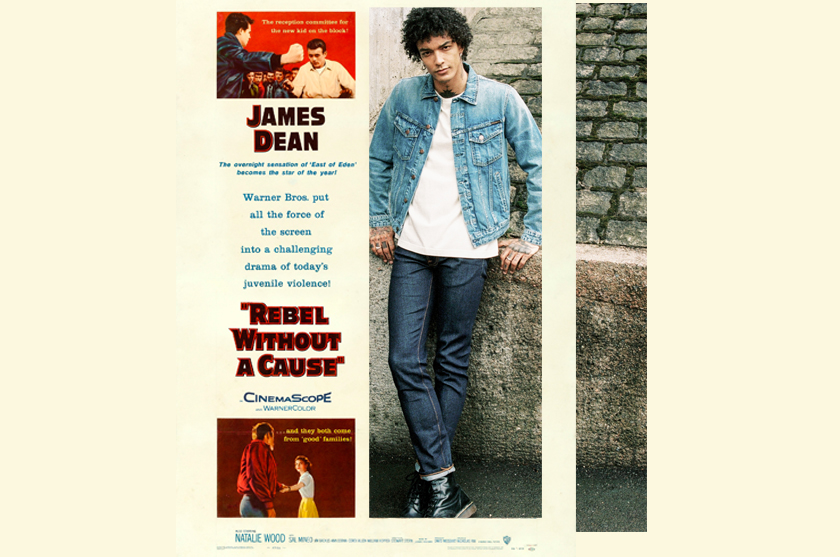 nudie Jeans zitiert James Dean