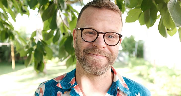 Matthias Rau ist einer der Gründer von zündstoff fair organic clothing