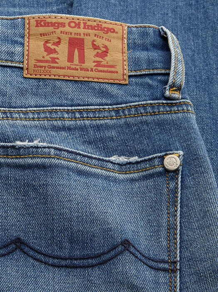 K.O.I. Jeans Juno High [bio stretch fresh blue]