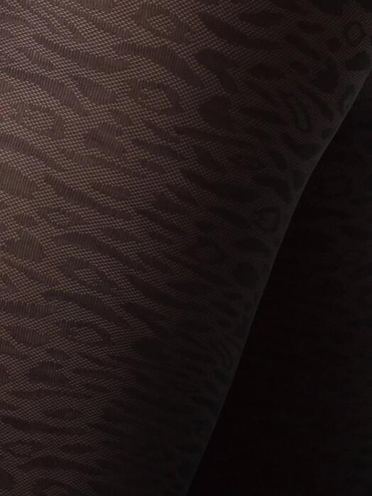 Swedish Stockings Leggings & Strumpfhosen Emma Leopard [black] jetzt im Onlineshop von zündstoff bestellen