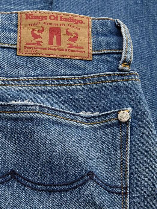 K.O.I. Jeans Jeans Juno High [bio stretch fresh blue] jetzt im Onlineshop von zündstoff bestellen