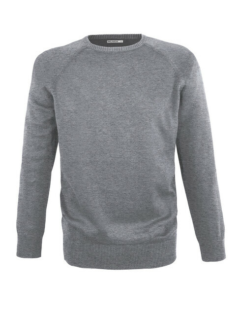 mela wear Strickpullover Basic [grey blend]