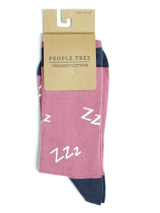 People Tree  Socken  ZZZ Socks [violet multi] jetzt im Onlineshop von zündstoff bestellen
