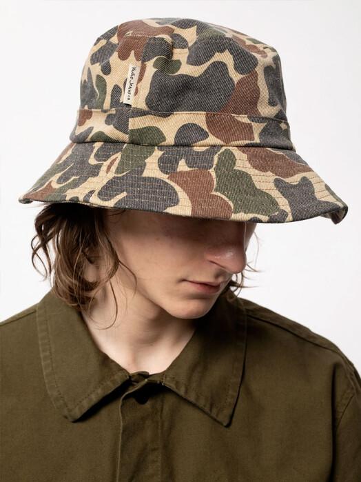 nudie Jeans Mützen Martinsson Camo Hat [multi] One Size jetzt im Onlineshop von zündstoff bestellen