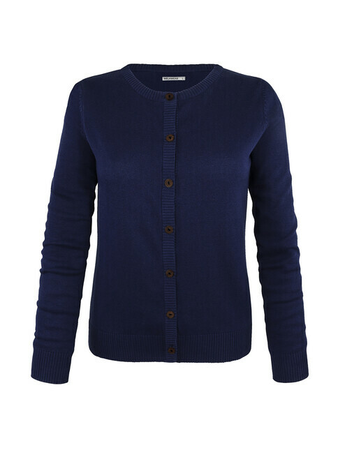 mela wear Cardigan [blue]