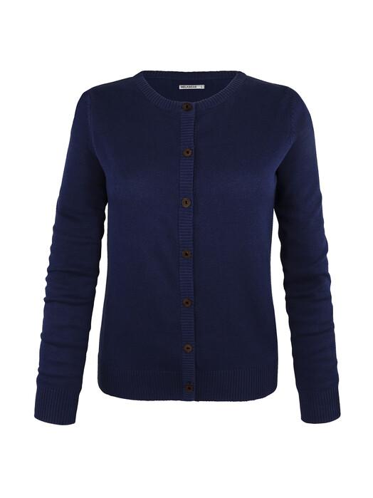 melawear Strickpullover & Cardigans Cardigan [blue] jetzt im Onlineshop von zündstoff bestellen