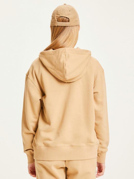 Knowledge Cotton Apparel  Hoodies Daphne Basic Badge Hoodie [incense] jetzt im Onlineshop von zündstoff bestellen