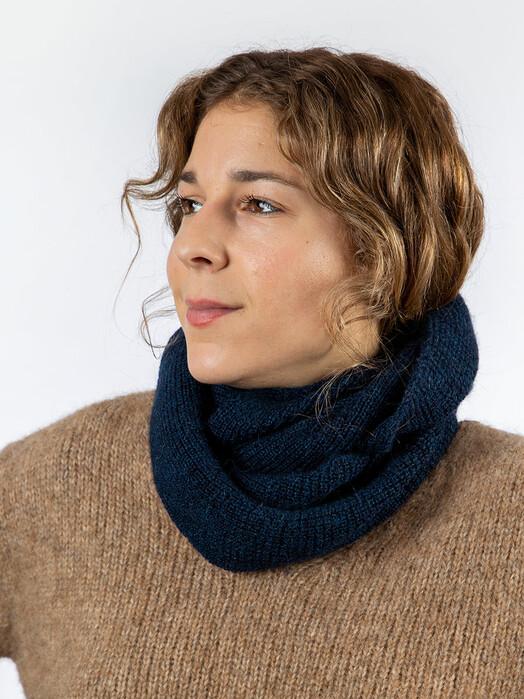Les Racines du Ciel Schals & Tücher Horizon Snood [blue chine] One Size jetzt im Onlineshop von zündstoff bestellen