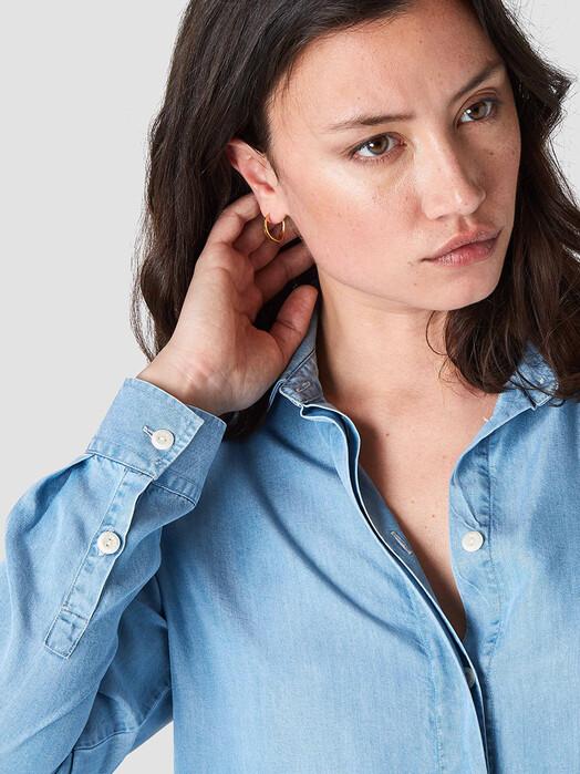 K.O.I. Jeans Kleider Priscilla [chambray tencel] XS jetzt im Onlineshop von zündstoff bestellen