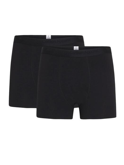 Knowledge Cotton Apparel  Unterwäsche  Maple 2-Pack [black jet] jetzt im Onlineshop von zündstoff bestellen