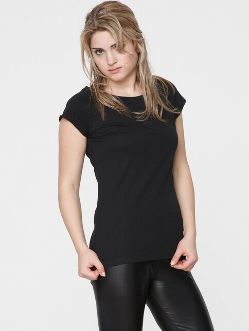 ThokkThokk  Women's Cap Sleeve T-Shirt [black]