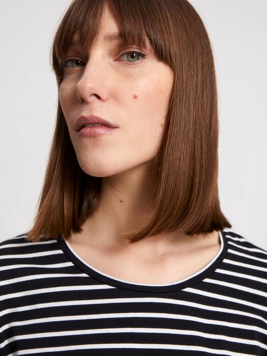 ARMEDANGELS Longsleeves Neaa Stripes [black/off white] jetzt im Onlineshop von zündstoff bestellen