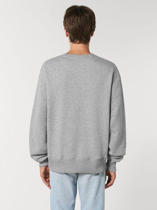 zündstoff.basics Sweatshirts Raja [diverse Farben] XS, heather grey jetzt im Onlineshop von zündstoff bestellen