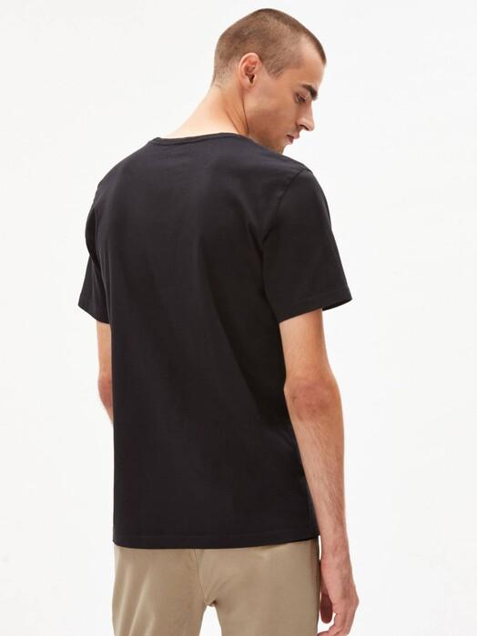 ARMEDANGELS T-Shirts Jaames Scribble Bike [black] jetzt im Onlineshop von zündstoff bestellen