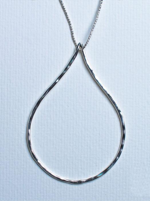Umiwi Schmuck Silberanhänger Platatinos [großer Tropfen] One Size jetzt im Onlineshop von zündstoff bestellen