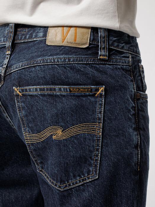 nudie Jeans Jeans Gritty Jackson [dark space] jetzt im Onlineshop von zündstoff bestellen