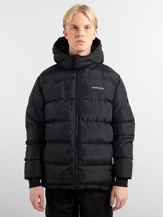 Dedicated Jacken & Mäntel Puffer Jacket Dundret [black] jetzt im Onlineshop von zündstoff bestellen