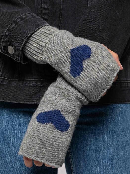 nudie Jeans Kajsa Market Gloves [grey melange]