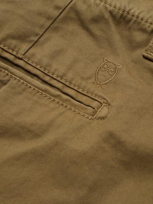 Knowledge Cotton Apparel  Chinos & Hosen Chuck Twill Chino [burned olive] jetzt im Onlineshop von zündstoff bestellen