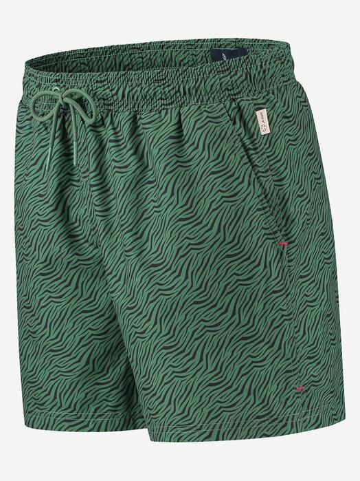 A-dam Underwear Badeshorts Swimshort Tiger [green] jetzt im Onlineshop von zündstoff bestellen