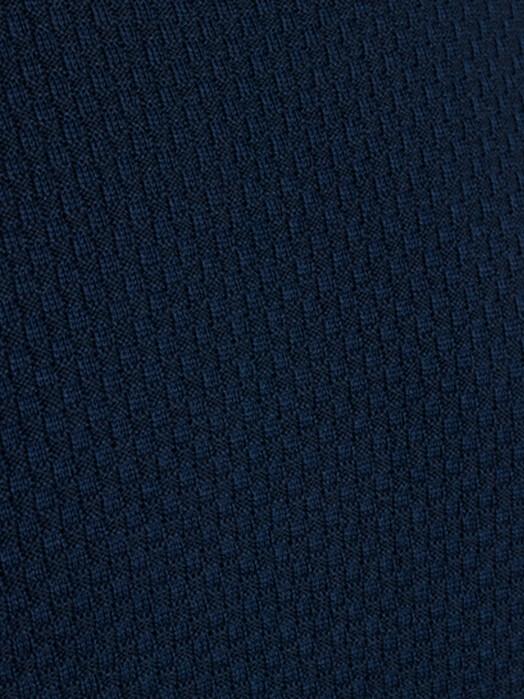 Knowledge Cotton Apparel  Strickpullover Field Structured Basic Knit [dark denim] jetzt im Onlineshop von zündstoff bestellen