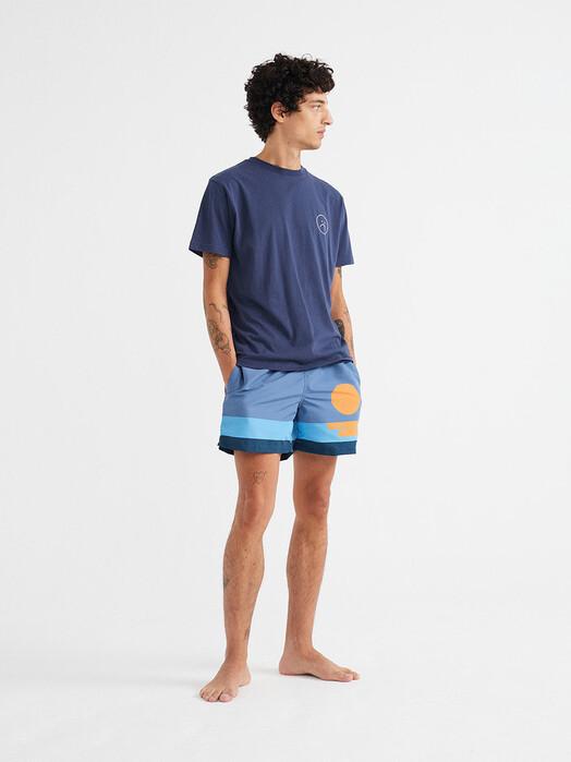 Thinking MU Badeshorts Sunset Swimwear [blue] XL jetzt im Onlineshop von zündstoff bestellen