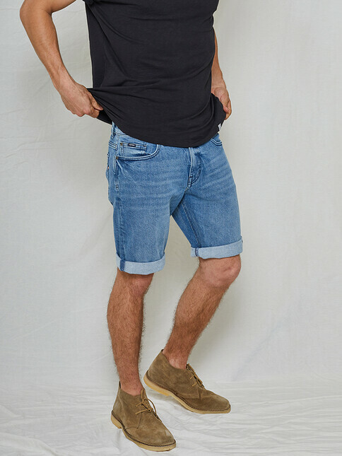 Kuyichi Jeans Jeff Denim Shorts [vintage blue]