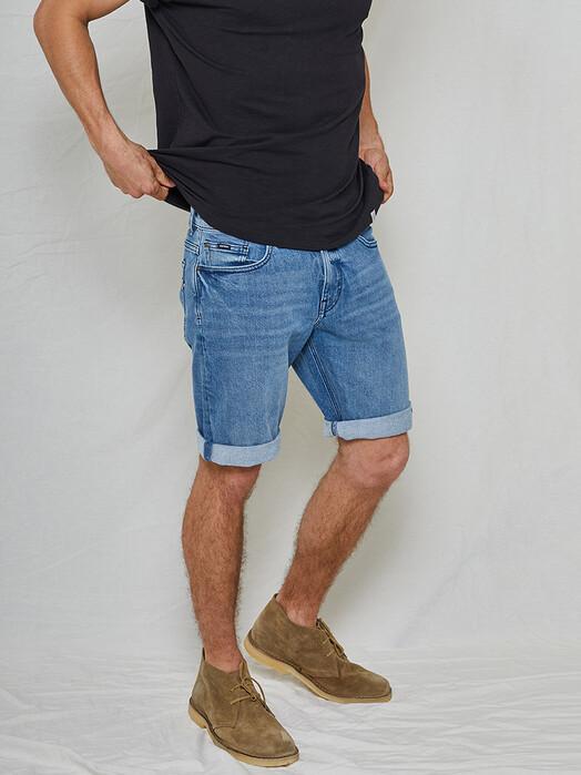 Kuyichi  Shorts Jeff Denim Shorts [vintage blue] jetzt im Onlineshop von zündstoff bestellen