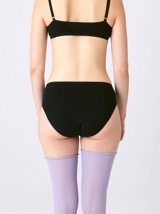 Kora Mikino Unterwäsche  Slip Sivvy [black] jetzt im Onlineshop von zündstoff bestellen