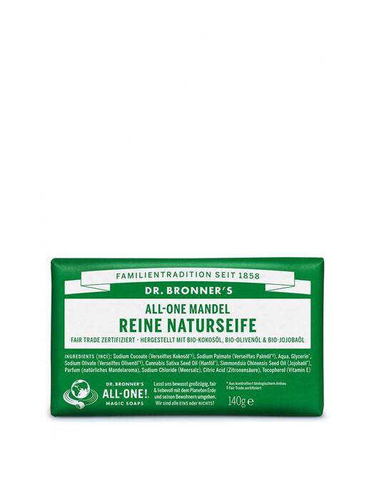 Dr. Bronner's Kosmetik Barsoap Mandel jetzt im Onlineshop von zündstoff bestellen