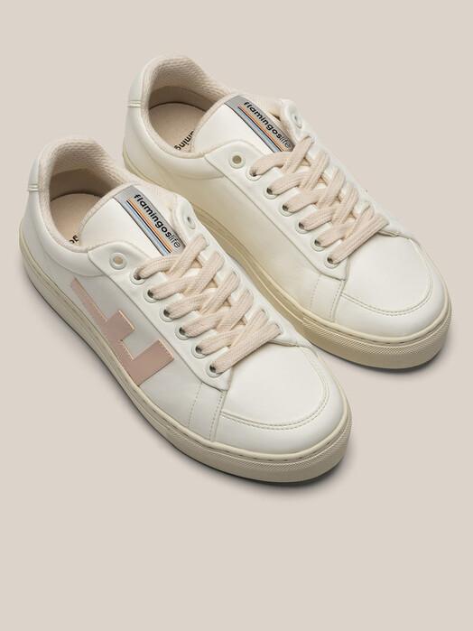 Flamingo's Life Schuhe  Classic 70's Kicks [white/vanilla/grey] jetzt im Onlineshop von zündstoff bestellen