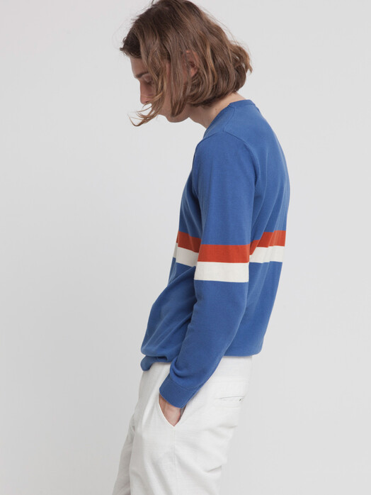 Strickpullover - Blue Knitted RCPB Sweater [blue marino] 4