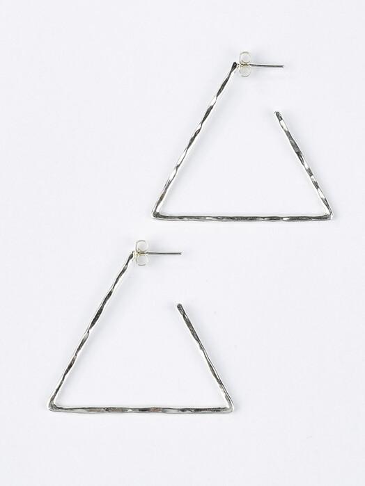 Umiwi Schmuck Silberkreole Platatinos [großes dreieck] One Size jetzt im Onlineshop von zündstoff bestellen