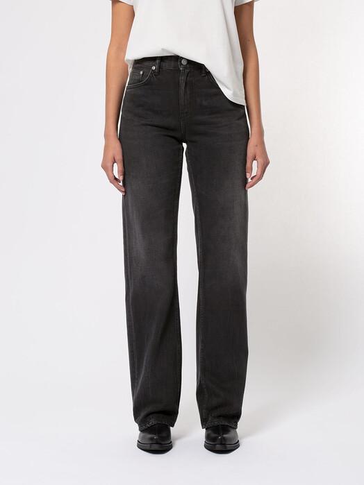 nudie Jeans Jeans Clean Eileen [shimmering black] jetzt im Onlineshop von zündstoff bestellen