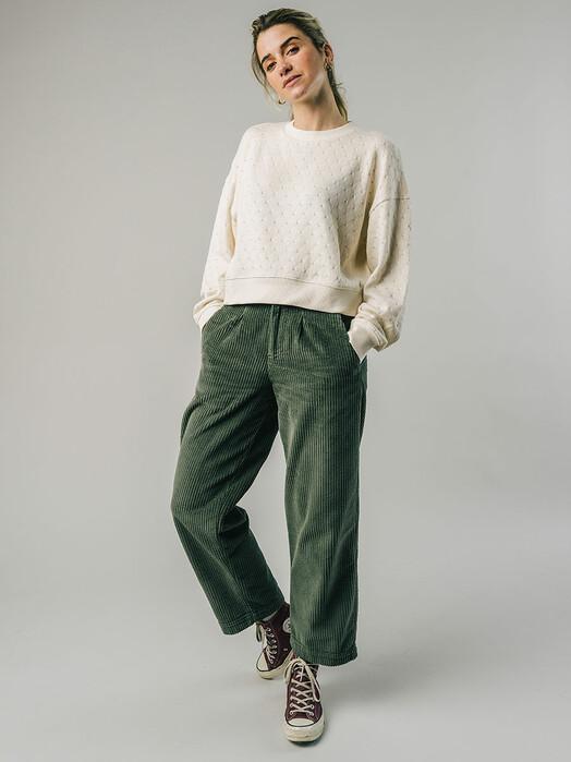 Brava Fabrics Strickpullover & Cardigans Lace Sweater [ecru] jetzt im Onlineshop von zündstoff bestellen