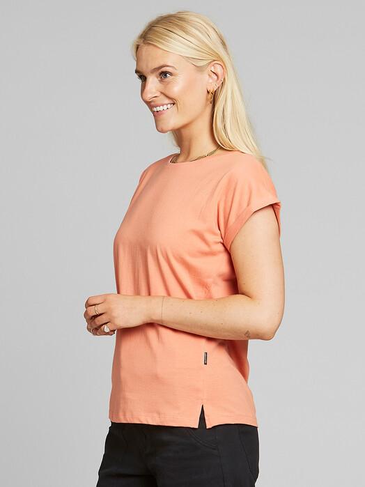 Dedicated T-Shirts Visby [coral] L jetzt im Onlineshop von zündstoff bestellen