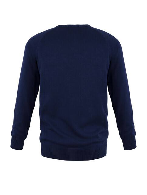 mela wear Strickpullover Basic [blau]
