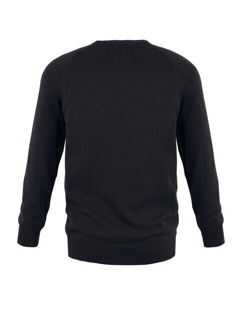 mela wear Strickpullover Basic [schwarz]