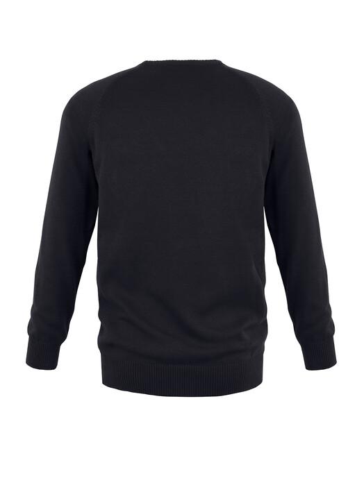 mela wear Strickpullover Strickpullover Basic [schwarz] S jetzt im Onlineshop von zündstoff bestellen