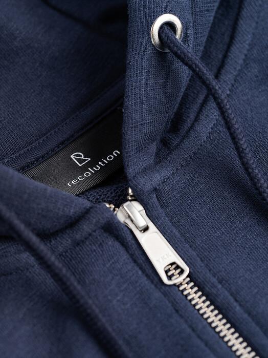 recolution  Hoodies Basic Sweatjacket [navy] jetzt im Onlineshop von zündstoff bestellen