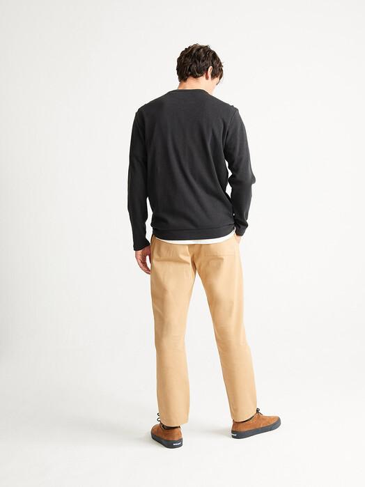 Thinking MU Longsleeves Hemp Shiva L/S T-Shirt [black] jetzt im Onlineshop von zündstoff bestellen