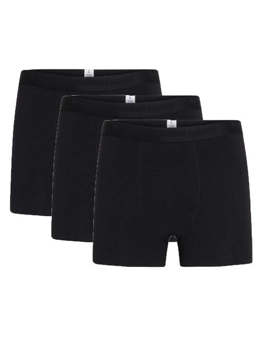 Knowledge Cotton Apparel  Unterwäsche  Maple 3-Pack [black jet] jetzt im Onlineshop von zündstoff bestellen