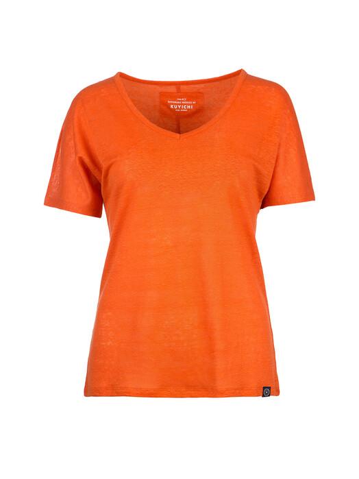 Kuyichi  T-Shirts Bailee [kuyichi orange] jetzt im Onlineshop von zündstoff bestellen