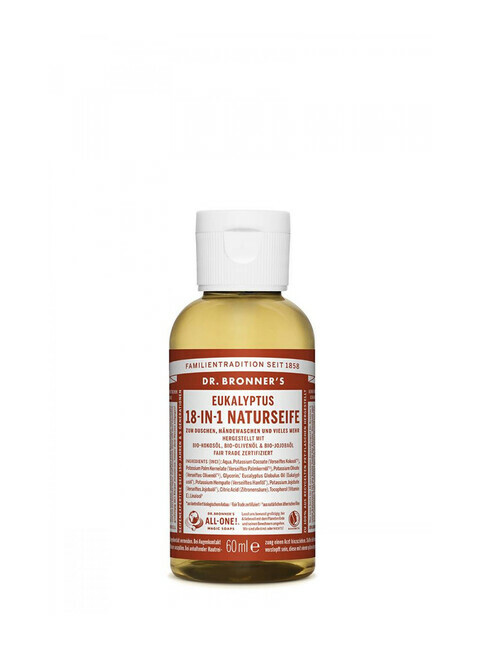 Dr. Bronner's Liquid Soap Eukalyptus 60ml