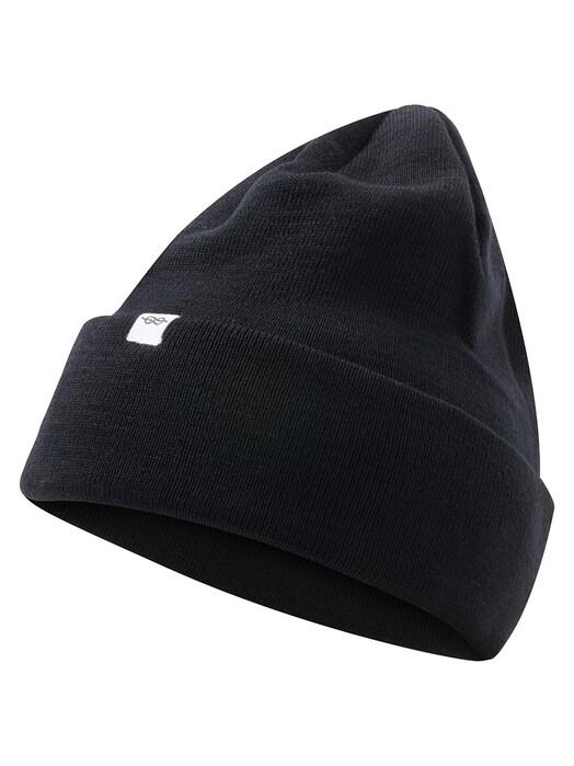 Klitmøller Collective Mützen Fine Rib Beanie [black] One Size jetzt im Onlineshop von zündstoff bestellen