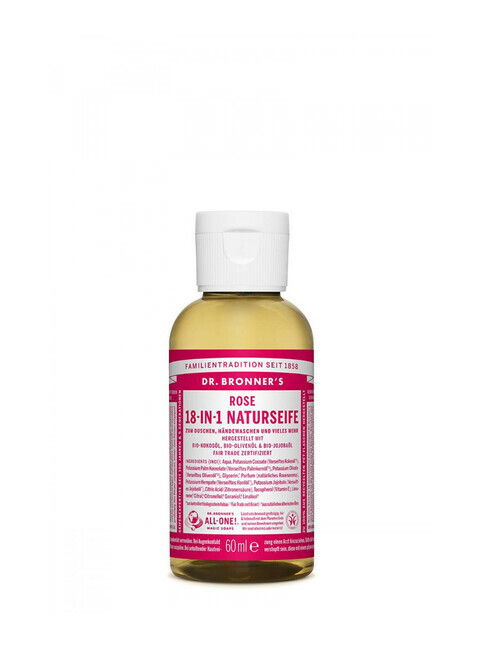 Dr. Bronner's Liquid Soap Rose 60ml