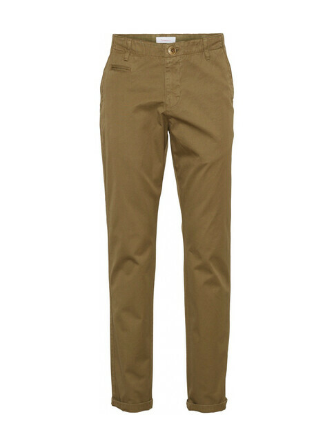 Knowledge Cotton Apparel  Chuck Twill Chino [burned olive]