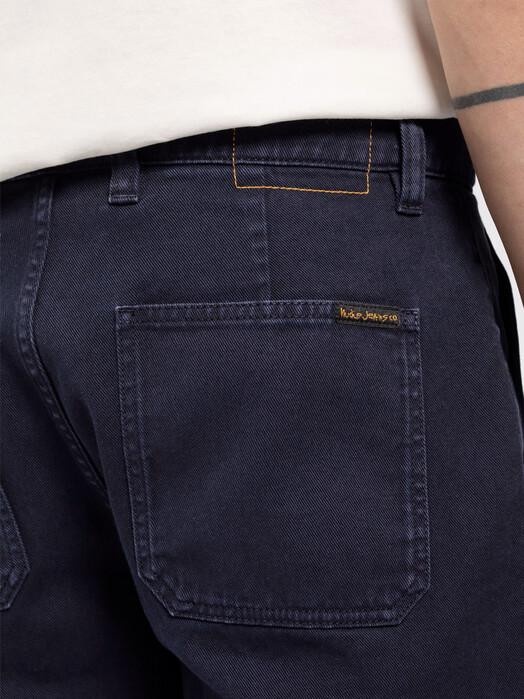 nudie Jeans Shorts Luke Worker Shorts Rigid Twill [navy] jetzt im Onlineshop von zündstoff bestellen