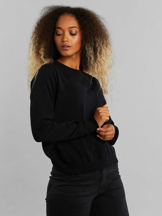 Dedicated Strickpullover & Cardigans Arendal [black] jetzt im Onlineshop von zündstoff bestellen